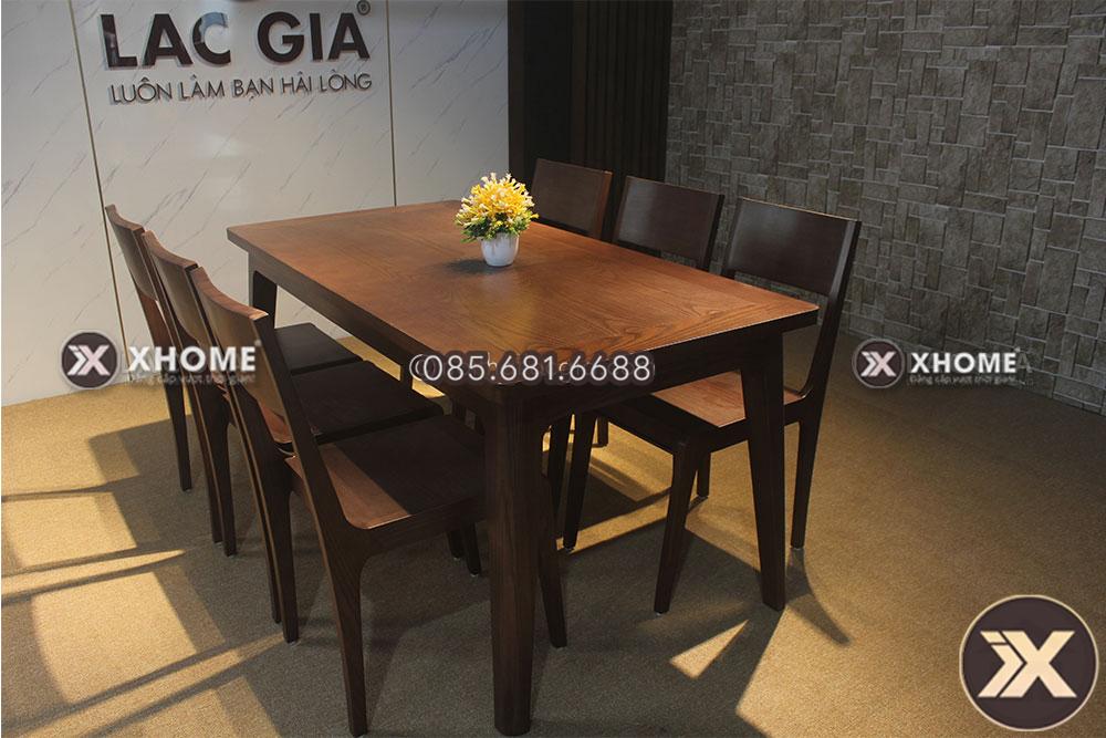 Mẫu bàn ăn gỗ BA02 hiện đại, đẹp, giá tốt