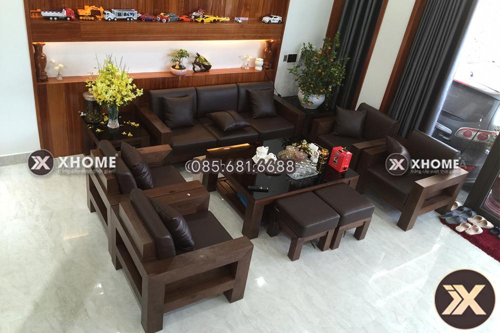 ban ghe go dang hop cao cap BG04 10 2 - 6 nguyên lý bài trí nội thất phòng khách mà bạn nên lưu lại ngay bây giờ