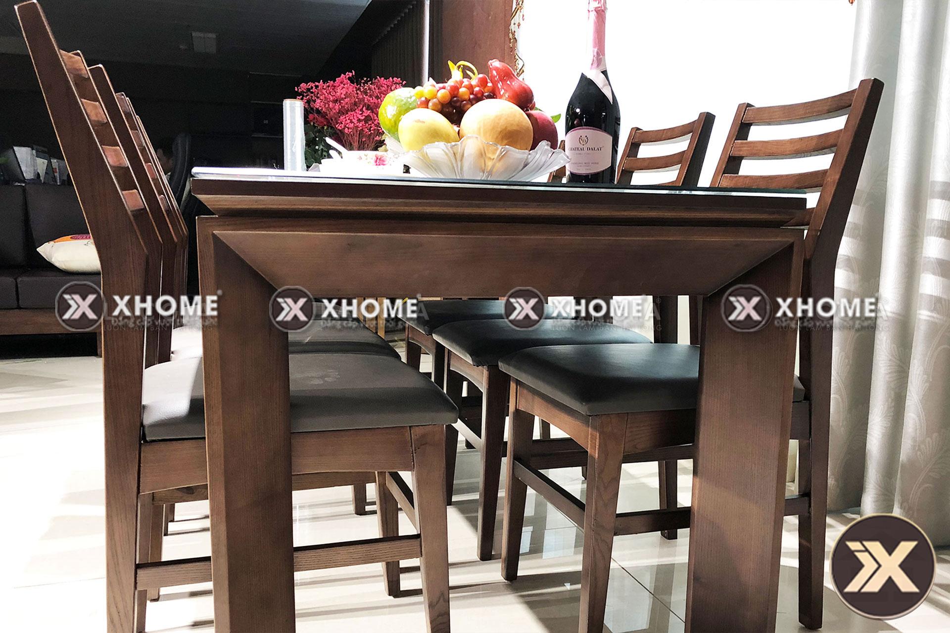 ban ghe go hien dai ba03 4 - Bàn ăn gỗ hiện đại BA03