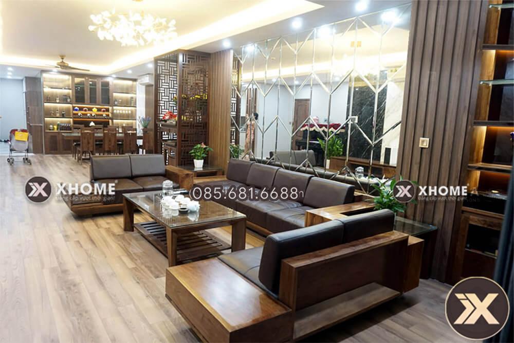 Sử dụng gỗ tự nhiên trong thiết kế nội thất