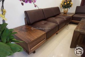 sofa go cao cap SF17 2 300x200 - 3 lưu ý bạn phải biết trước khi mua bộ sofa gỗ óc chó
