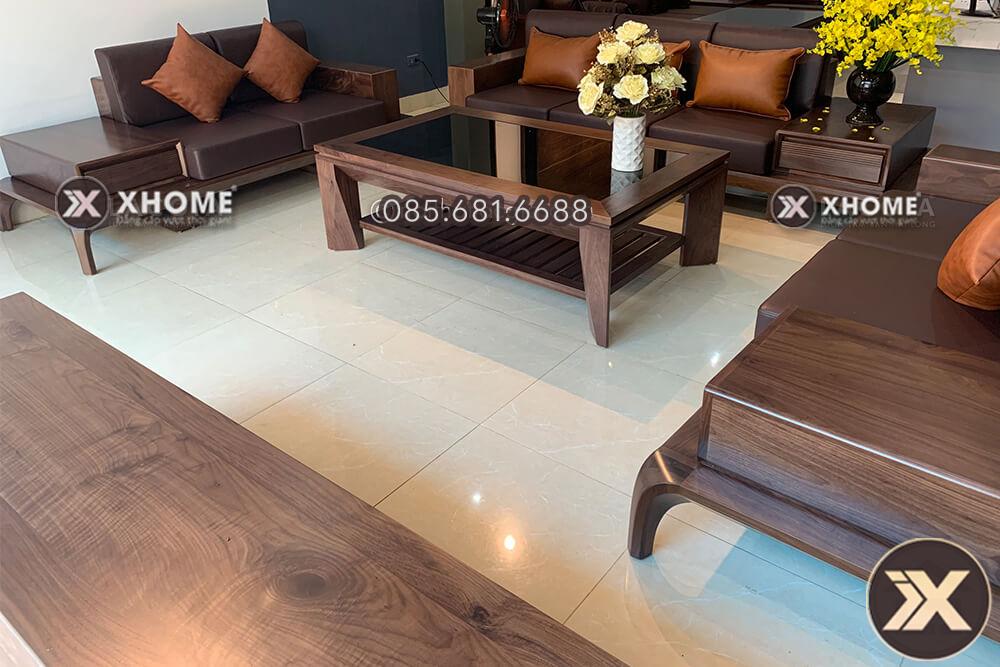 sofa gỗ cao cấp, hiện đại, giá tốt nhất thị trường