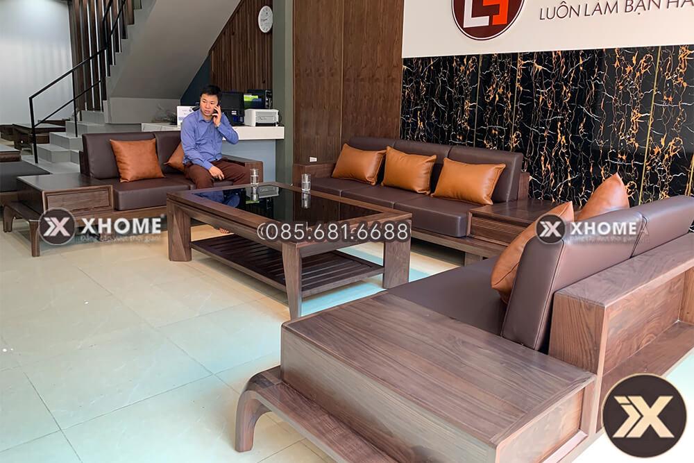 sofa go cao cap SF23 5 - Sofa gỗ cao cấp SF23