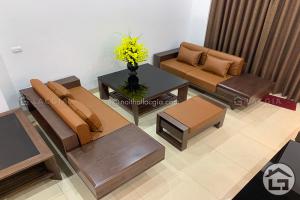 Sofa gỗ tự nhiên đẹp, cao cấp