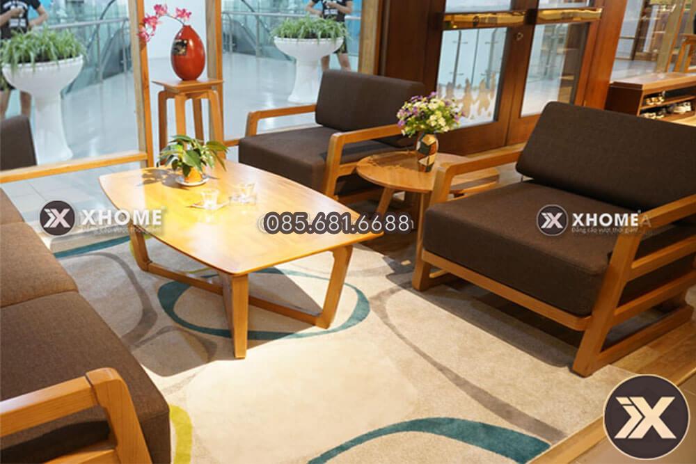 sofa go dep cho phong khach hien dai SF14 2 - Sofa gỗ đẹp SF14