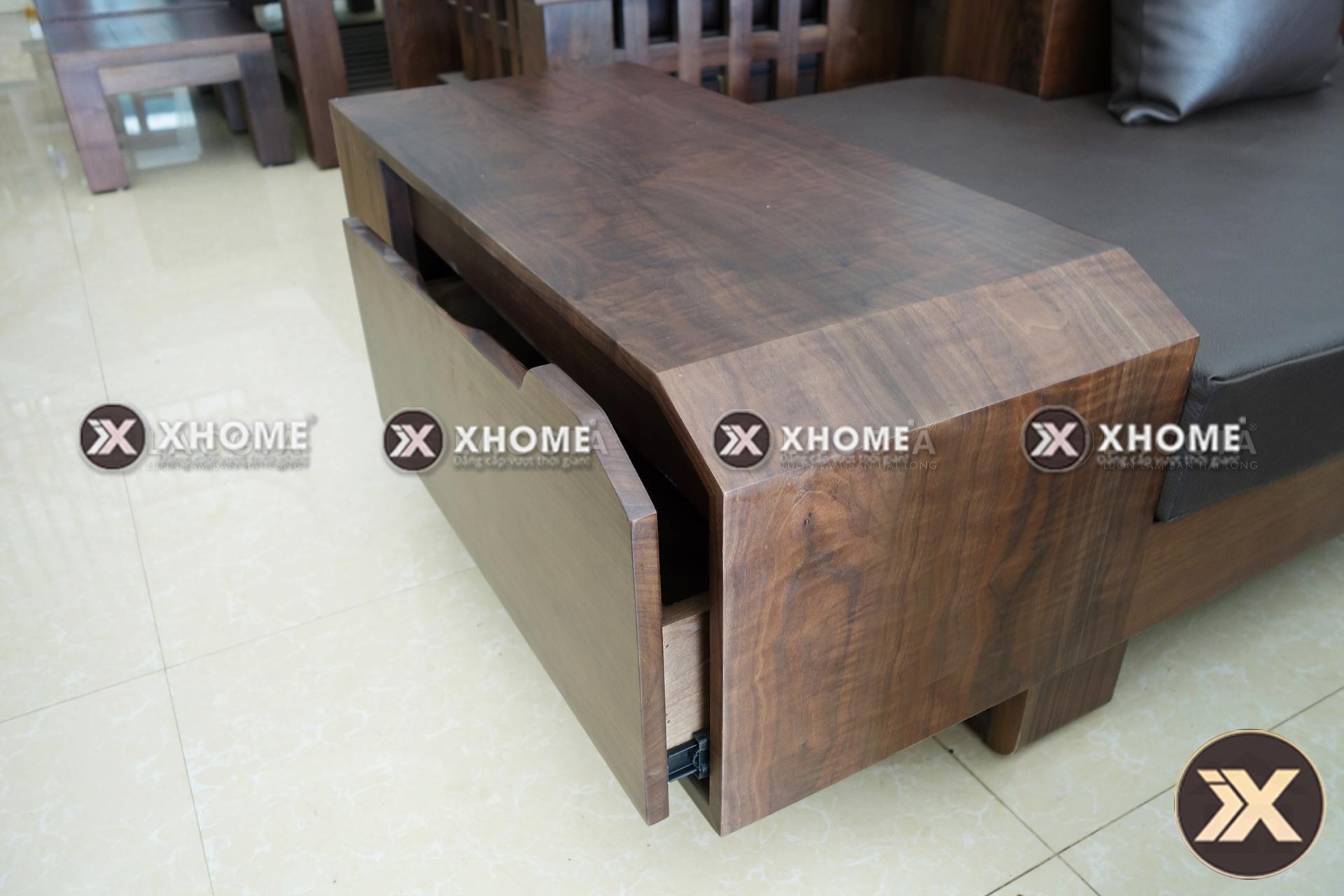 sofa go hien dai cao cap SF03 2 - Sofa gỗ hiện đại SF03