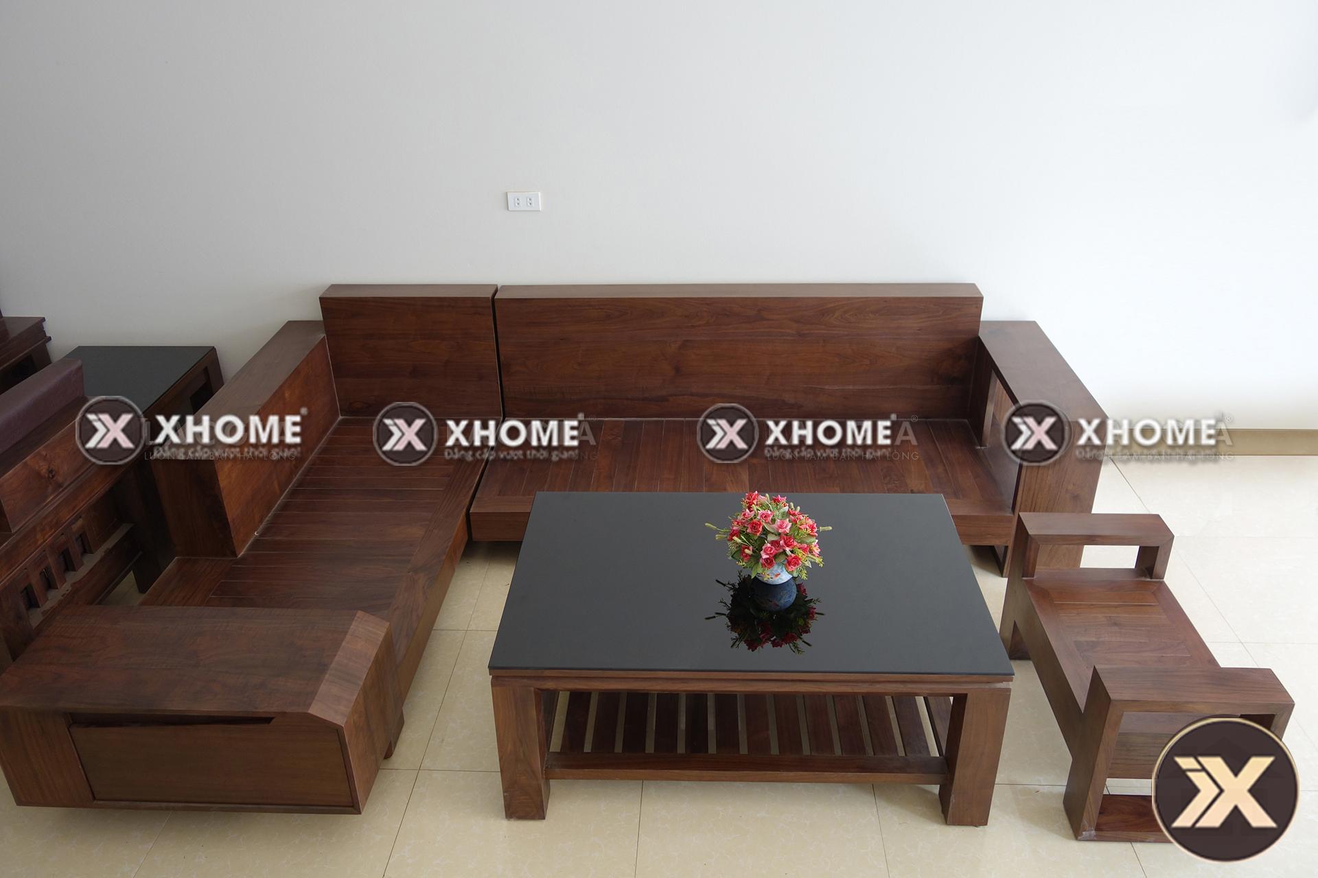 sofa go hien dai cao cap SF03 - Sofa gỗ hiện đại SF03