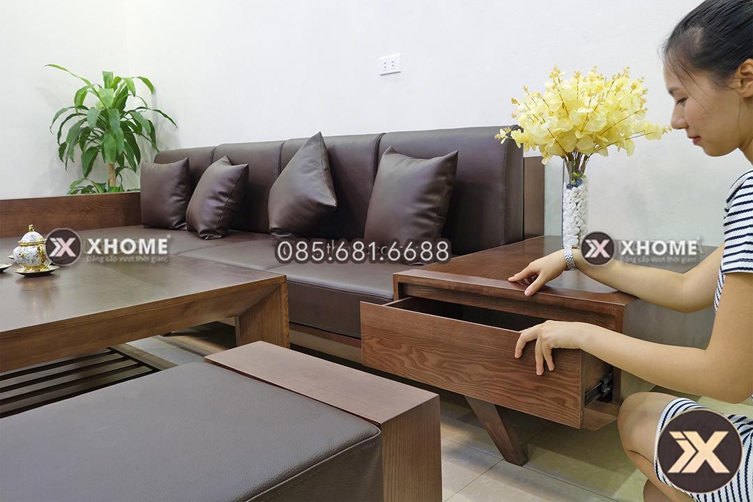 sofa go tu nhien SF08 4 - Sofa gỗ cao cấp SF08