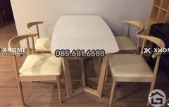 Bàn ăn gỗ sang trọng cho phòng bếp