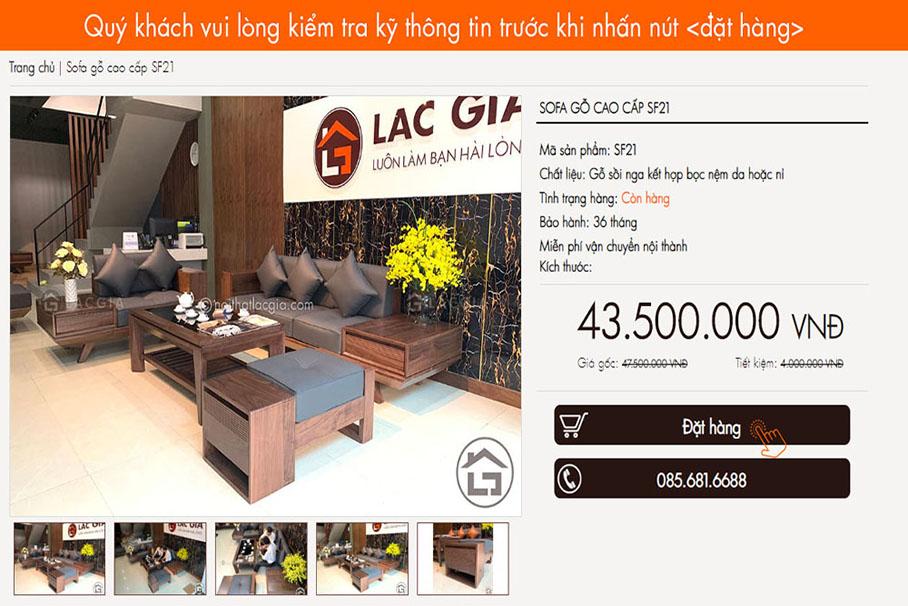 dat hang 1 - Hướng dẫn mua hàng và thanh toán trên website