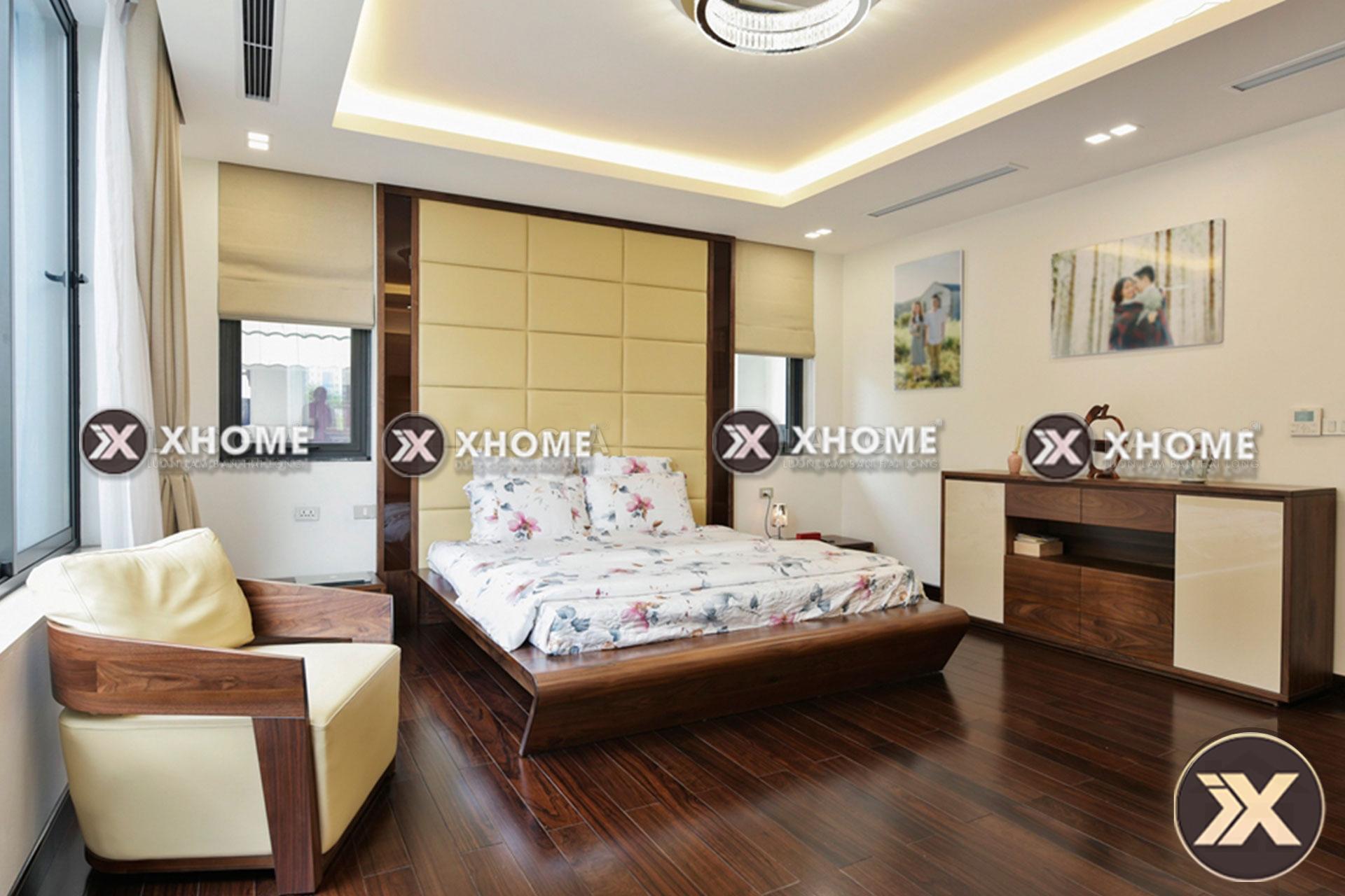giuong ngu go cao cap gn07 2 - Phòng ngủ Master là gì? 3 lưu ý khi thiết kế nội thất phòng ngủ