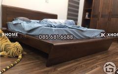 Mẫu thiết kế giường ngủ gỗ cao cấp