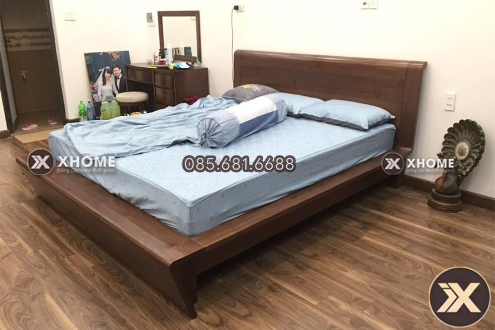 giuong ngu go cao cap gn07 - Giường ngủ gỗ cao cấp GN07