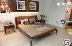 Giường ngủ gỗ cao cấp cho phòng ngủ sang trọng