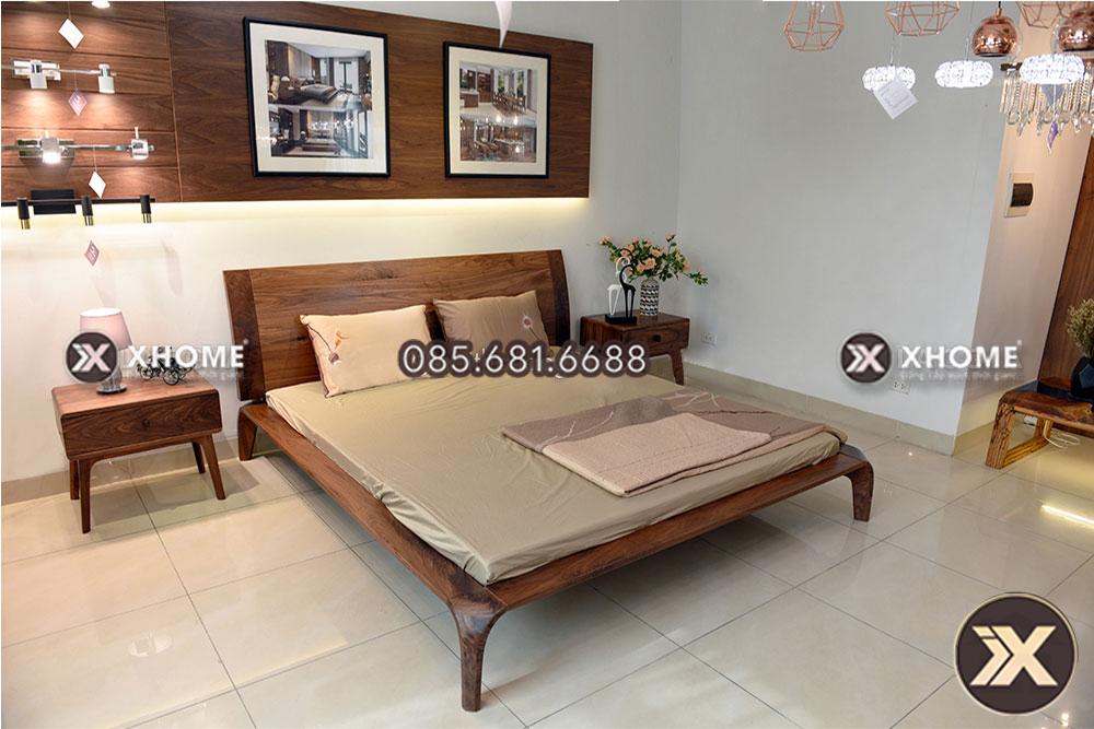 giuong ngu go cao cap gn12 - Giường gỗ cao cấp GN12