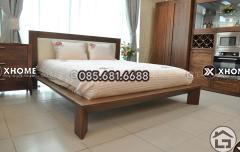 Giường ngủ gỗ đẹp, sang trọng