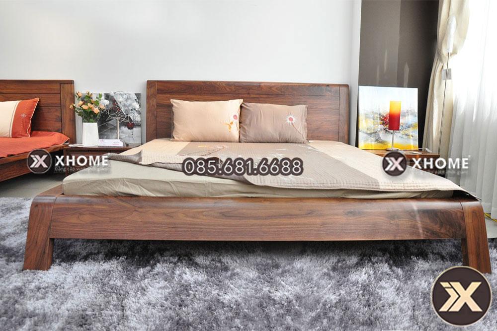 giuong ngu go hien dai gn13 - Giường ngủ gỗ hiện đại GN13