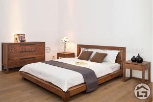 Giường ngủ kiểu nhật sang trọng