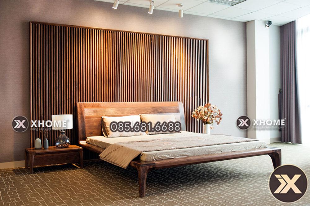 giuong ngu go tu nhien gn14 2 - Giải pháp thiết kế nội thất giúp có một không gian hoàn hảo