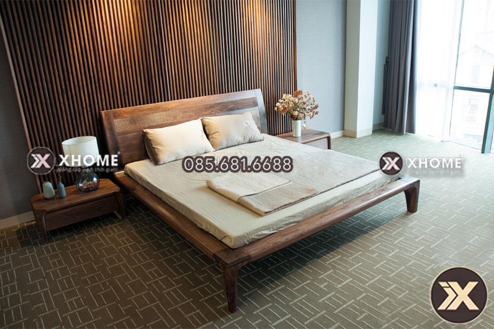Vách gỗ cao cấp mang lại độ bền và vẻ đẹp tuyệt đối cho phòng ngủ nhà bạn