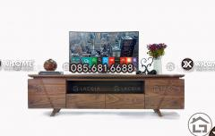 Hiện đại, sang trọng hơn với mẫu kệ tivi gỗ đẹp đẳng cấp KTV03