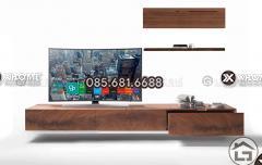 Kệ tivi gỗ cao cấp cho phòng khách hiện đại