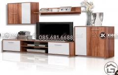 Kệ tivi gỗ đẹp cho phòng khách sang trọng