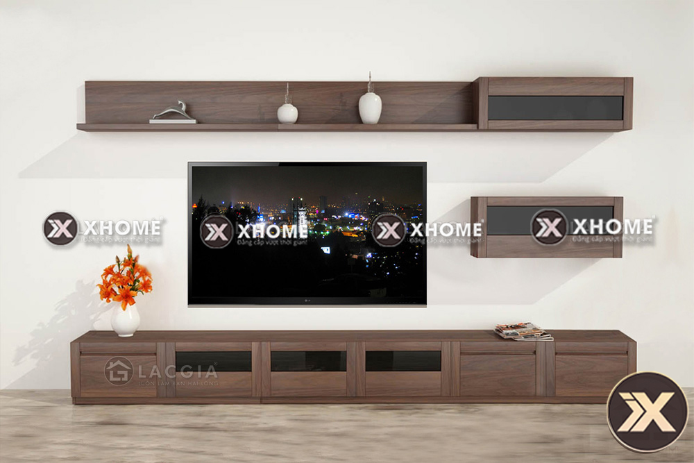 Xhome - cơ sở cung cấp kệ tivi gỗ hiện đại uy tín, chất lượng số 1 Hà Nội