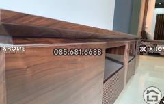 Kệ tivi gỗ tự nhiên cao cấp, hiện đại