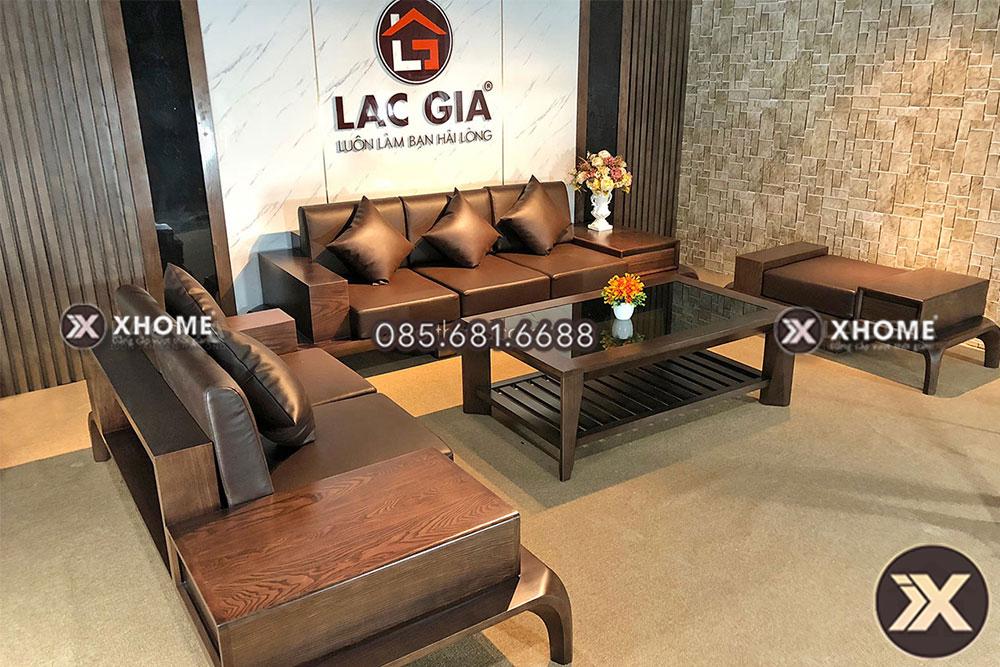 sofa go cao cap cho phong khach hien dai SF10 12 - Sofa gỗ cao cấp SF10