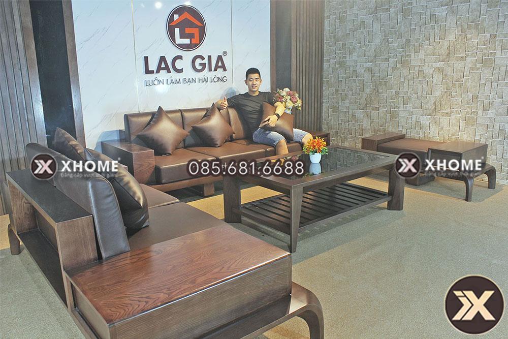 sofa go cao cap cho phong khach hien dai SF10 14 - 5 câu hỏi thường gặp về bộ sofa gỗ sồi cho phòng khách