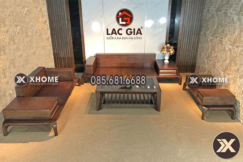 sofa go cao cap cho phong khach hien dai SF10 15 - 5 câu hỏi thường gặp về bộ sofa gỗ sồi cho phòng khách
