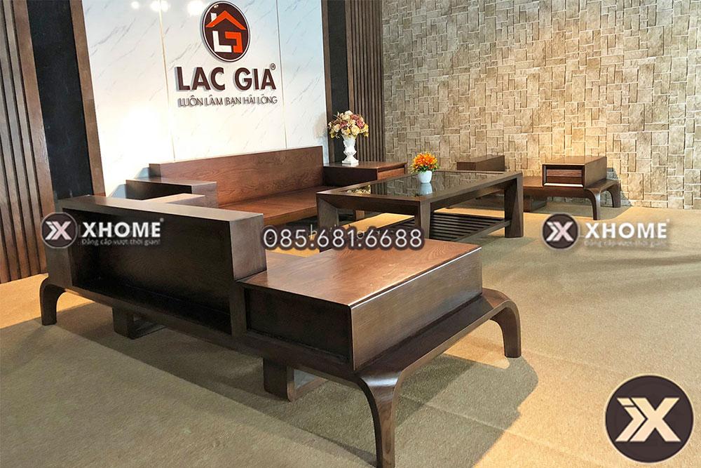 sofa go cao cap cho phong khach hien dai SF10 9 - Sofa gỗ cao cấp SF10