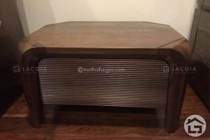 Tab đầu giường gỗ hiện đại