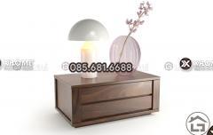 Mẫu thiết kế tab đầu giường gỗ cao cấp