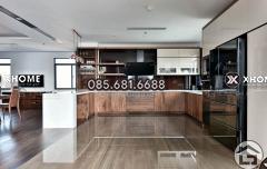 Tủ bếp gỗ đẹp, giá rẻ
