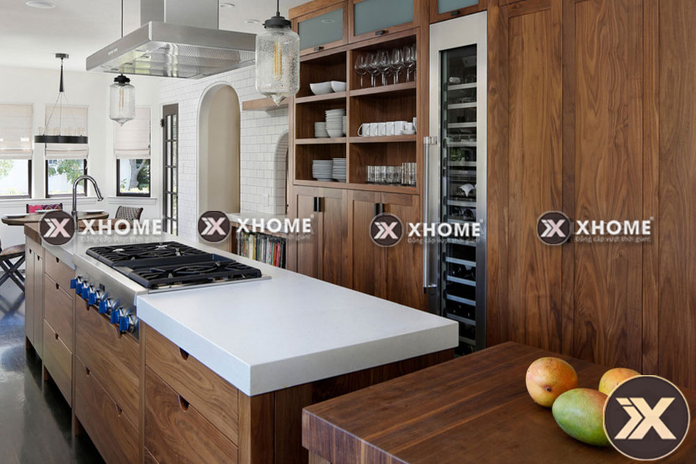tu bep go tu nhien tb05 - Làm sao để tạo nên một không gian phòng bếp đẹp?
