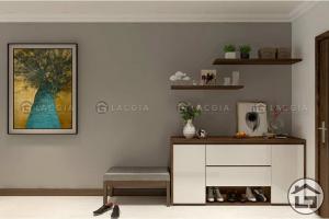 Tủ giày gỗ cao cấp cho phòng khách
