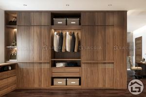 Mẫu thiết kế tủ quần áo cao cấp, hiện đại
