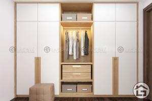 Tủ quần áo gỗ cao cấp TA09