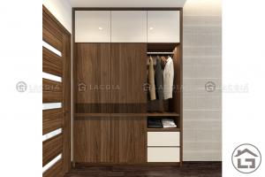 Mẫu tủ quần áo gỗ đẹp, hiện đại