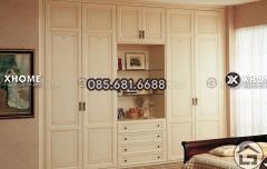 Tủ quần áo gỗ đẹp cho phòng ngủ hiện đại