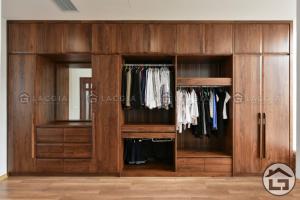 Tủ quần áo gỗ tự nhiên giá tốt