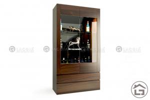 Tủ rượu gỗ đẹp cho phòng bếp
