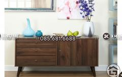Tủ trang trí gỗ tự nhiên, giá tốt