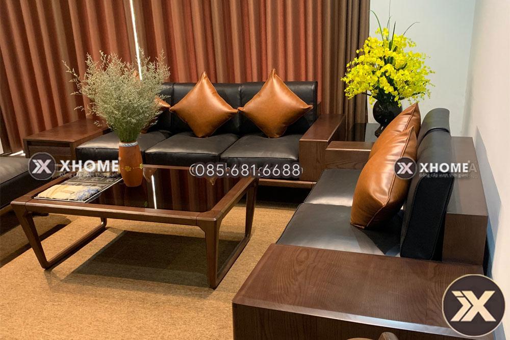Sofa gỗ cao cấp, hiện đại, giá tốt