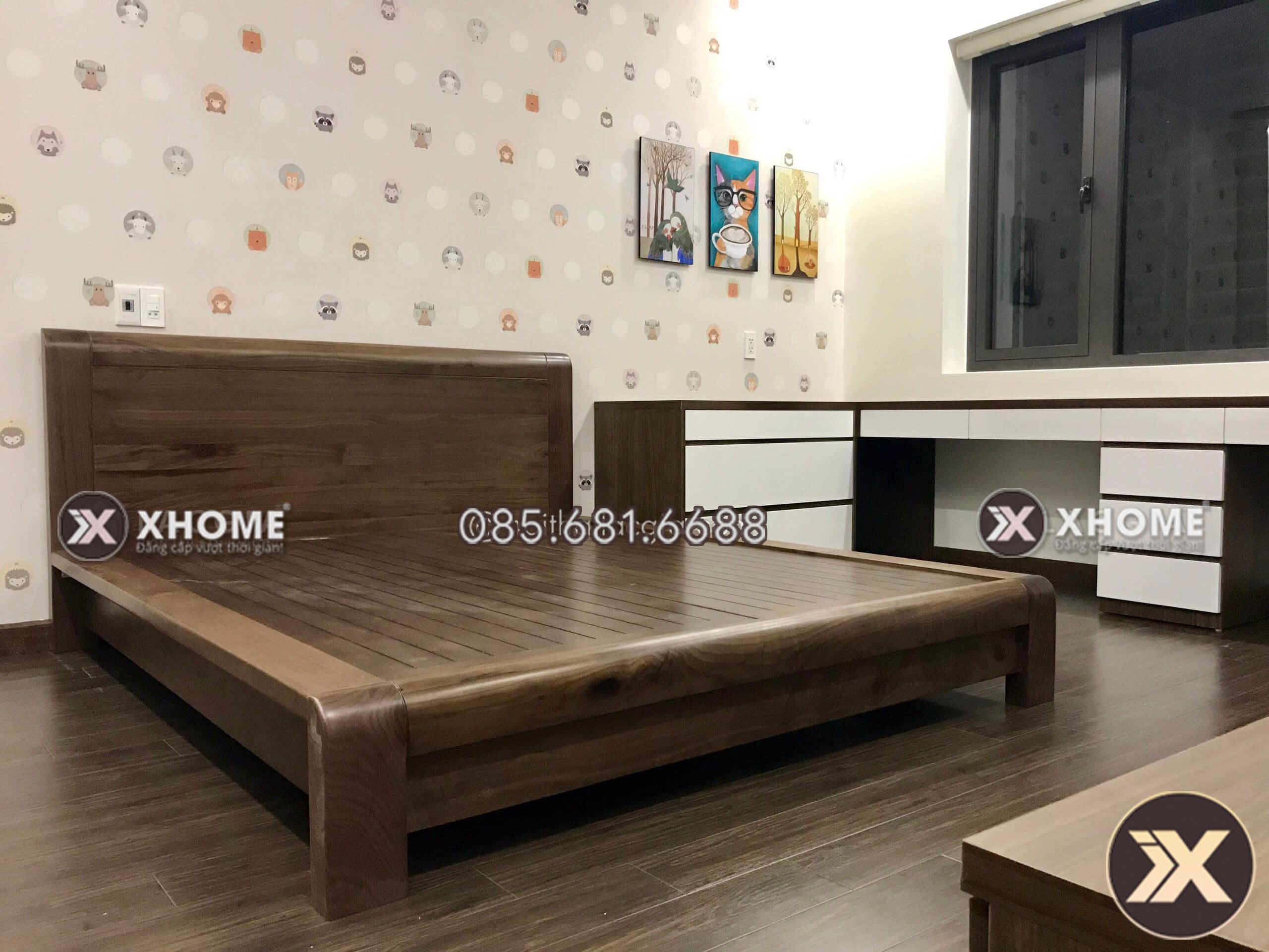 thiet ke noi that phong ngu chi na 4 - Chiêm ngưỡng vẻ đẹp dự án thiết kế nội thất biệt thự nhà Chị Na
