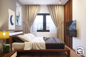 Thiết kế nội thất phòng ngủ chung cư cao cấp tại Sơn La