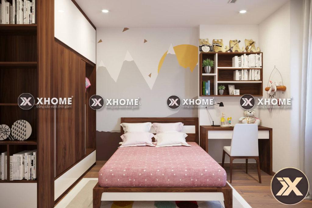 thiet ke thi cong noi that phong ngu cho chung cu - Dịch vụ thiết kế và thi công nội thất tại Yên Bái