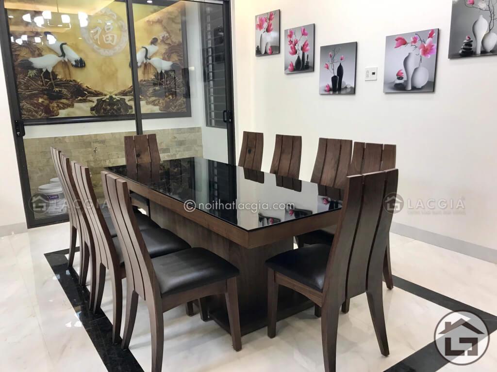 ban an dep go oc cho - Đón tết 2020 trọn vẹn với chiếc bàn ăn gỗ tự nhiên